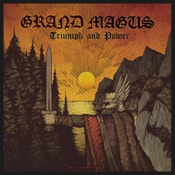 Nášivka Grand Magus - Triumph & Power