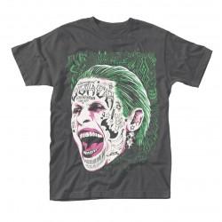 Tričko Suicide Squad - Joker Tattooed Face