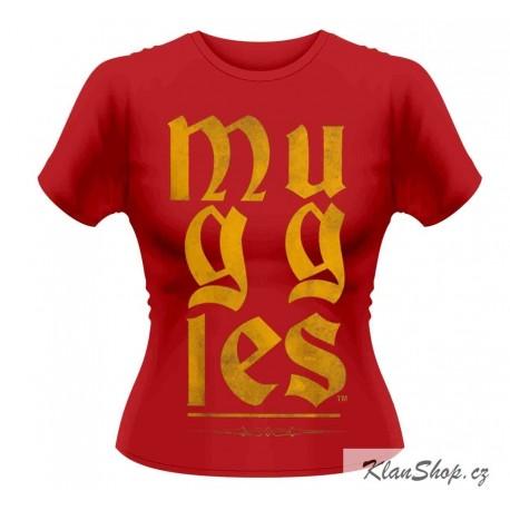 Dámské tričko Harry Potter - Muggles
