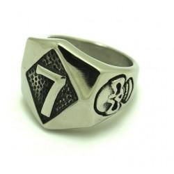 Prsten z chirurgické oceli - 7