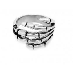 Prsten z chirurgické oceli - Skeleton ruka
