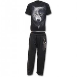 Pánské pyžamo - Set 4ks - Wolf Chi