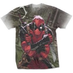 Pánské tričko Deadpool - Cash