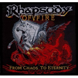 Nášivka s kapelou Rhapsody Of Fire - From Chaos To Eternity