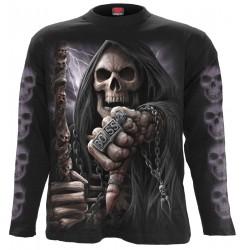 Pánské tričko s dlouhým rukávem Spiral Direct - Boss Reaper