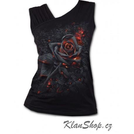 Dámské tričko Spiral Direct - Burnt Rose