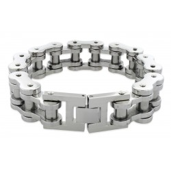 Náramek z chirurgické oceli - Řetěz