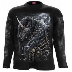 Pánské tričko s dlouhým rukávem Spiral Direct - Dark Unicorn
