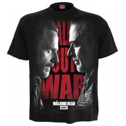 Pánské tričko Živí Mrtví Spiral Direct - All Out War