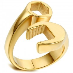 Prsten z chirurgické oceli - Klíč