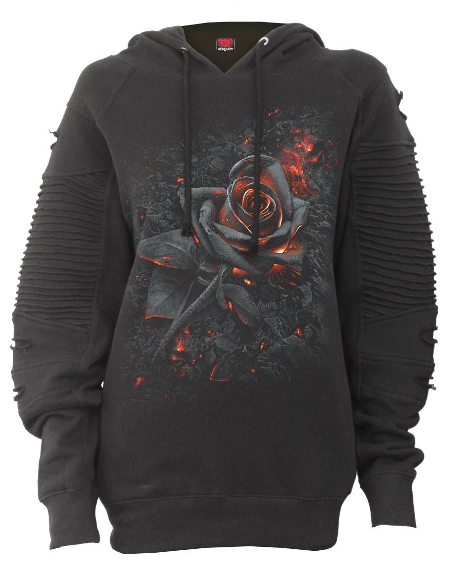 56660532a4e Dámská mikina Spiral Direct - Burnt Rose
