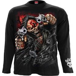 Pánské tričko s dlouhým rukávem Spiral Direct - 5FDP Assassin