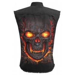 Pánská košile Spiral Direct - Skull Lava