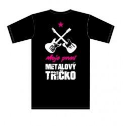 Dětské tričko - Moje první metalový tričko