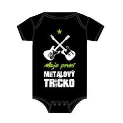 Dětské body - Moje první metalový tričko
