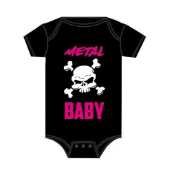 Dětské body - Metal Baby