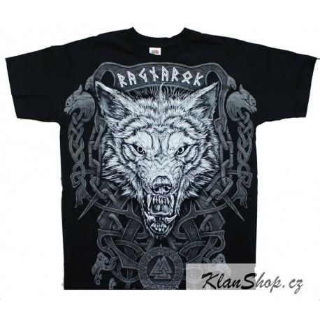 Pánské tričko - Viking - Wolf Fenrir