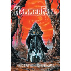 Vlajka na zeď s kapelou - Hammerfall - Glory Of The Brave