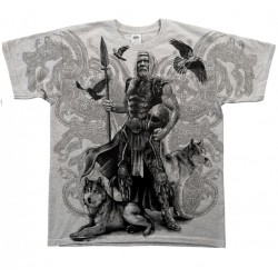 Pánské tričko - Viking - Odin