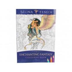 Kniha omalovánek - Enchanting Fantasy