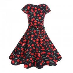 Dámské retro šaty - Cherries