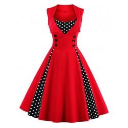 Dámské retro šaty - Red Vintage
