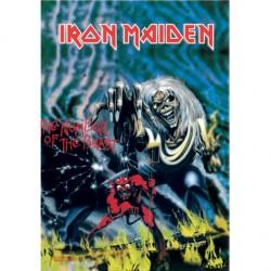 Vlajka Iron Maiden - The Number Of The Beast