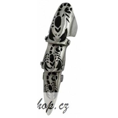 Kloubový prsten - Scorpion