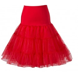 Spodnička pod retro šaty - Červená