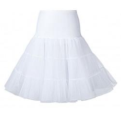 Spodnička pod retro šaty - Bílá