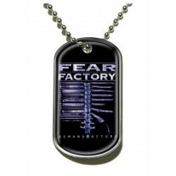 Psí známka Fear Factory - Demanufacture