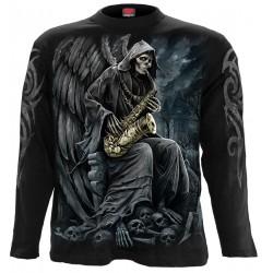 Pánské tričko s dlouhým rukávem Spiral Direct - Reaper Blues