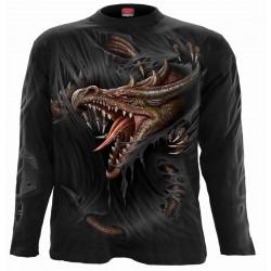 Pánské tričko s dlouhým rukávem Spiral Direct - Breaking Out