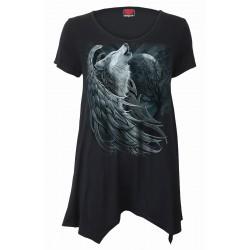 Dámské tričko Spiral Direct - Wolf Spirit