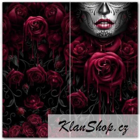 Šátek Spiral Direct - Blood Rose