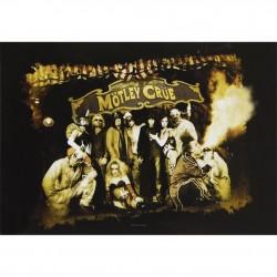 Vlajka na zeď s kapelou - Motley Crue - Carnival Of Sins