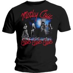 Pánské tričko Motley Crue - Smokey Street
