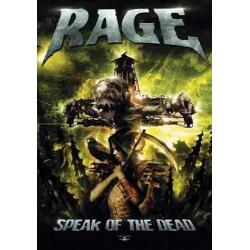 Vlajka na zeď s kapelou - Rage - Speak Of The Dead