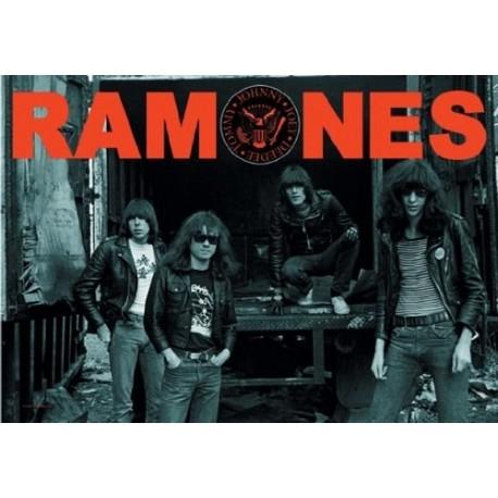 Vlajka na zeď s kapelou - Ramones