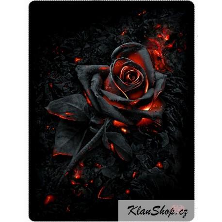 Fleecová deka Spiral Direct - Burnt Rose