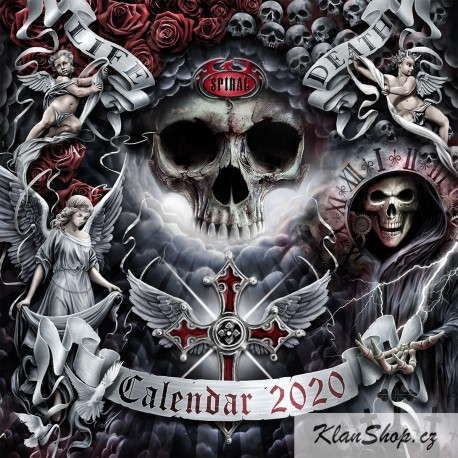 Kalendář 2020 Spiral Direct - Dark Arts