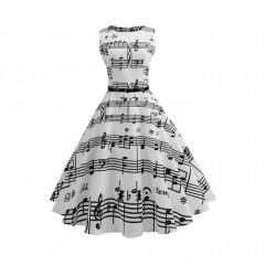 Dámské retro šaty - Music