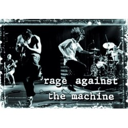 Vlajka na zeď s kapelou - Rage Against The Machine