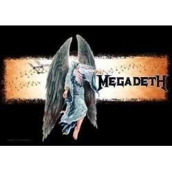 Vlajka na zeď s kapelou - Megadeth - Angel
