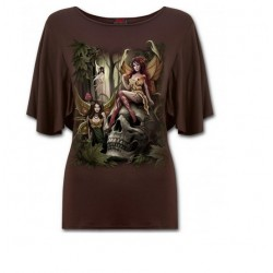 Dámské tričko Spiral - Woodland Fairy