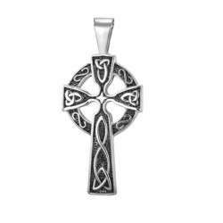 Ocelový přívěsek - Kříž
