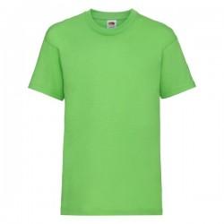 Dětské tričko Fruit Of The Loom - Limetkové