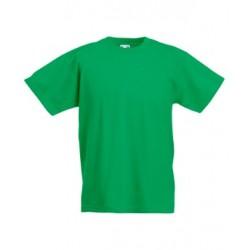 Dětské tričko Fruit Of The Loom - Zelené