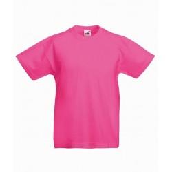 Dětské tričko Fruit Of The Loom - Růžové