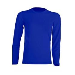 Dětské tričko s dlouhým rukávem JHK - Modré
